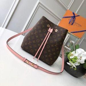 New L★V  Neonoe Shoulder Bag Rose Poudre